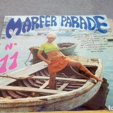 Discos de vinilo: DISCO DE VINILO MARFER PARADE Nº 11 DE 1969 CON BAJO EL SOL, ANGELITOS NEGROS, ETC.... Lote 146032526