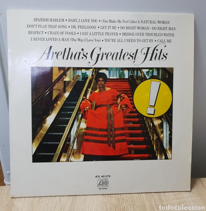 ARETA FRANKLIN (Música - Discos - LP Vinilo - Funk, Soul y Black Music)