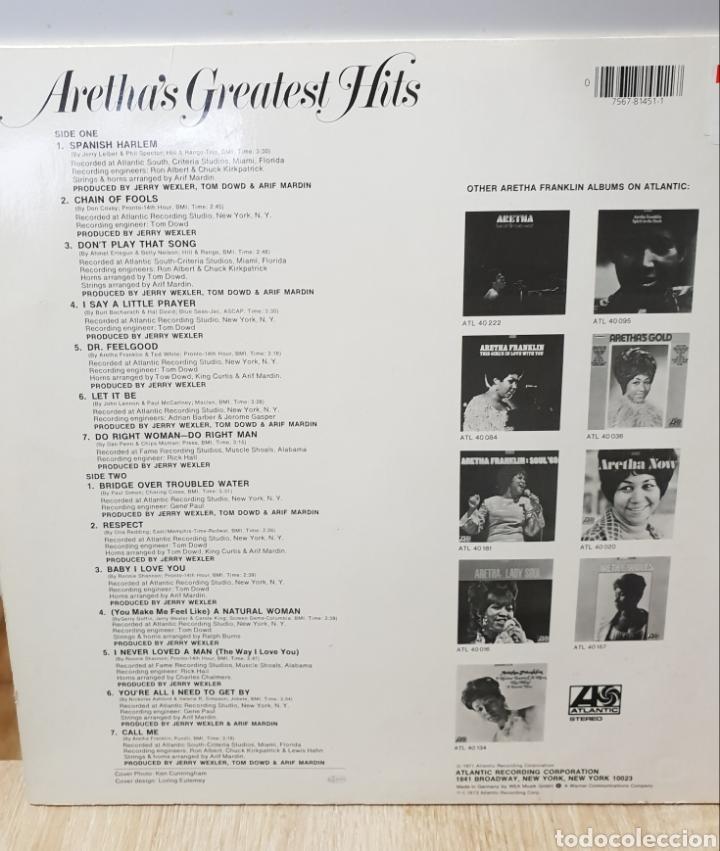 Discos de vinilo: Areta Franklin - Foto 2 - 146040306