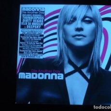 Discos de vinilo: MADONNA DIE ANOTHER DAY - MAXI SINGLE CONTIENE DOS DISCOS NUEVO A ESTRENAR. Lote 151881990
