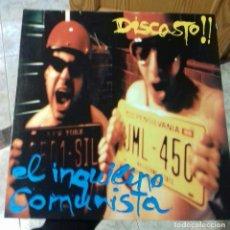 Discos de vinilo: EL INQUILINO COMUNISTA DISCASTO LP VINILO AÑO 1996 INDIE ROCK. Lote 146114302
