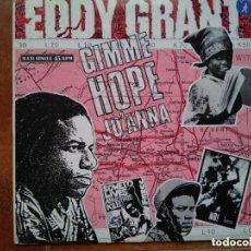 Discos de vinilo: EDDY GRANT - GIMME HOPE JO'ANNA (MX) 1988. Lote 146114318