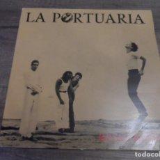 Discos de vinilo: LA PORTUARIA - ROSAS ROJAS. Lote 146124174