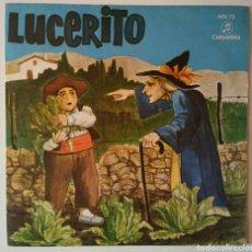 Discos de vinilo: VINILO LUCERITO AÑO 1969. Lote 146126441