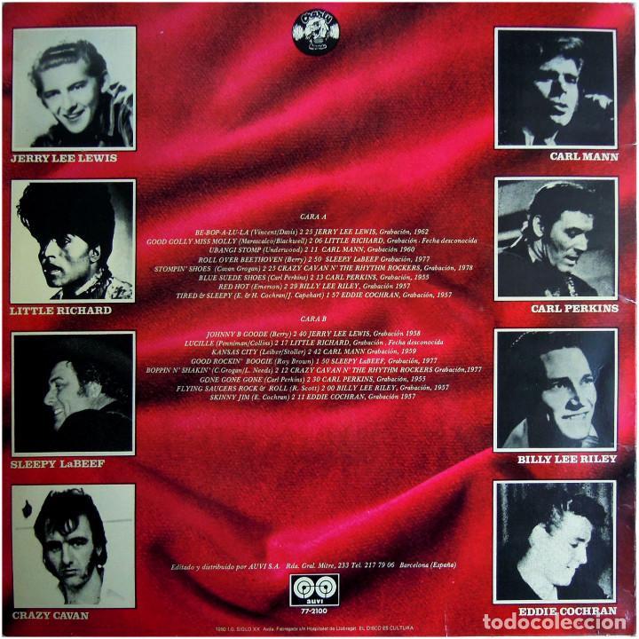 Discos de vinilo: VVAA - 25 Años Del RockNRoll - Lp Spain 1980 - Auvi 77-2100 - Foto 2 - 146133542