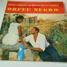 Discos de vinilo: B. S. O. FILM ORFEU NEGRO, EP, FELICIDADE + 3, AÑO 19?? MADE IN FRANCE. Lote 146141222