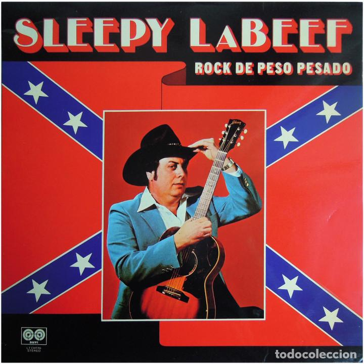 SLEEPY LA BEEF – ROCK DE PESO PESADO - LP SPAIN 1980 - CHARLY RECORDS / AUVI L7-CH116 (Música - Discos - LP Vinilo - Rock & Roll)