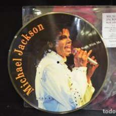 Discos de vinilo: MICHAEL JACKSON - ROCK WITH ME - PICTURE DISC . Lote 146149958