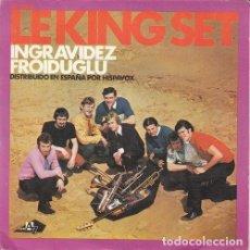 Discos de vinilo: LE KING SET MICHEL JONASZ - INGRAVIDEZ - SINGLE DE VINILO EDICION ESPAÑOLA. Lote 146153582