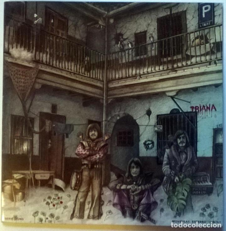 TRIANA. EL PATIO. MOVIEPLAY-GONG, SPAIN 1975 LP + DOBLE CUBIERTA (Música - Discos - LP Vinilo - Grupos Españoles de los 70 y 80)