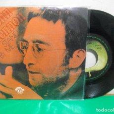 Discos de vinilo: JOHN LENNON STAND BY ME SINGLE PORTUGAL 1975 PEPETO TOP . Lote 146174226