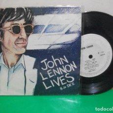 Discos de vinilo: JOHN LENNON LIVES - 8 DE DEZ . WOMAN + 3 EP PORTUGAL 1981 PEPETO TOP. Lote 146174826