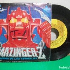 Discos de vinilo: BSO - MAZINGER - EL ROBOT DE LAS ESTRELLAS MAZINGER Z SINGLE SPAIN 1978 PEPETO TOP. Lote 146175442