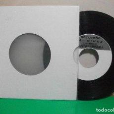 Discos de vinilo: SANTABARBARA RECUERDO MI NIÑEZ SINGLE SPAIN PEPETO TOP. Lote 146177362