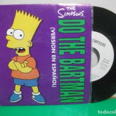 Discos de vinilo: BSO - THE SIMPSONS DO THE BARTMAN - EN ESPAÑOL SINGLE SPAIN 1991 PEPETO TOP. Lote 146177874
