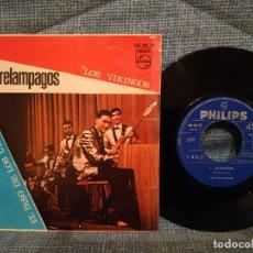 Discos de vinilo: LOS RELAMPAGOS - (LOS VIKINGOS / EL PASO DE LOS URALES) - SINGLE ESPAÑA 1967 - EXCELENTE ESTADO. Lote 146181306
