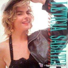 Discos de vinilo: LETICIA SABATER, TU VECINA FAVORITA, MAXI-SINGLE PROMO SPAIN 1990 + DOCUMENTO BIOGRAFICO PROMOCIONAL. Lote 146206882