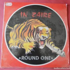 Discos de vinilo: ROUND ONE - IN ZAIRE - ON TOP - IN ZAIRE (RAP VERSION) . Lote 146235226