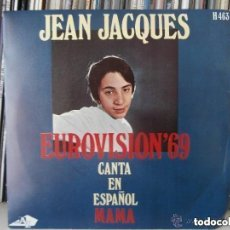 Discos de vinilo: JEAN JACQUES - MAMA (SG) 1969. Lote 146253534