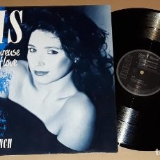 Discos de vinilo: MAXI - IRIS - JE SUIS AMOUREUSE / IN THE FACE OF LOVE - IRIS - 4 TRACK. Lote 146260598