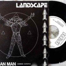 Discos de vinilo: LANDSCAPE. EUROPEAN MAN. SINGLE ESPAÑA PROMOCIONAL.. Lote 146260782