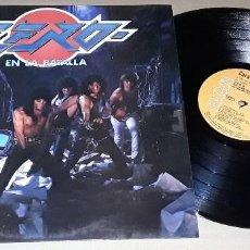 Discos de vinilo: LP - ZERO - EN LA BATALLA - EDICIO ORIGINAL CON LETRAS DE LAS CANCIONES - ZERO. Lote 146263398