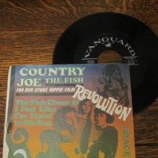 Discos de vinilo: COUNTRY JOE AND THE FISH `THE FISH CHEER AND I FEEL LIKE I´M FIXIN´ TO DIE RAG` 1968. Lote 146249630