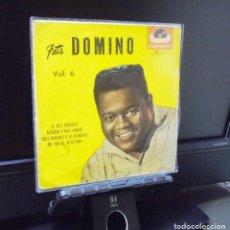 Discos de vinilo: FATS DOMINO VOL. 6 - A QUE PRECIO + 3 CANCIONES --- POLYDOR 27 2727 EPH ---AÑO 1960---POCAS COPIAS. Lote 146299886