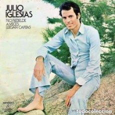 Discos de vinilo: JULIO IGLESIAS – RIO REBELDE / A VECES LLEGAN CARTAS - SINGLE SPAIN 1973. Lote 289466343