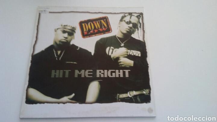 DOWN LOW - HIT ME RIGHT (Música - Discos de Vinilo - Maxi Singles - Rap / Hip Hop)