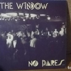 Discos de vinilo: THE WINDOW - NO PARES . MAXI SINGLE . 1992 Z.K.A. RECORDS. Lote 146310606