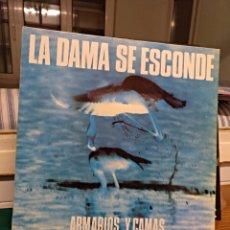 Discos de vinilo: LA DAMA SE ESCONDE, ARMARIOS Y CAMAS. DRO 1986. Lote 146318060