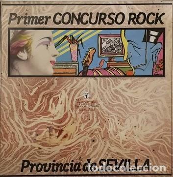 PRIMER CONCURSO DE ROCK DE LA PROVINCIA DE SEVILLA (Música - Discos de Vinilo - EPs - Grupos Españoles de los 70 y 80)
