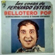 Discos de vinilo: FERNANDO ESTESO - BELLOTERO POP -. Lote 146320410
