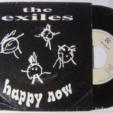 Discos de vinilo: THE EXILES - HAPPY NOW / YOUR LOVE - SINGLE 1992 - GUETTO VOX. Lote 146333814