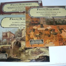 Discos de vinilo: COLECCIÓN LOS GRANDES COMPOSITORES DE SALVAT - PHILIPS 100 DISCOS EDITA FONOGRAN 1981. Lote 146367998