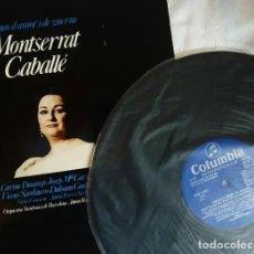 Discos de vinilo: MONTSERRAT CABALLÉ VINIL LP CANÇÓ D'AMOR I DE GUERRA EXCELENTE ESTADO 1974. Lote 146370966