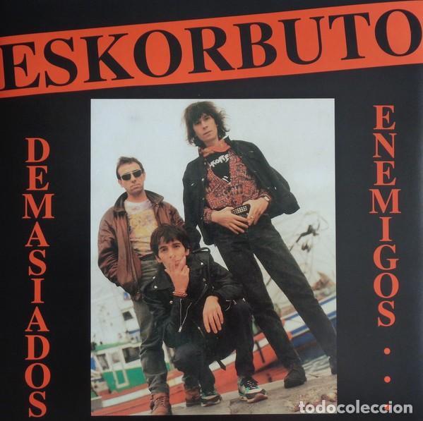 ESKORBUTO - DEMASIADOS ENEMIGOS - 2009 GUNS OF BRIXTON RECORDS GATEFOLD SLEEVE REISSUE (Música - Discos - LP Vinilo - Punk - Hard Core)