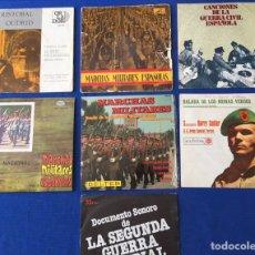 Discos de vinilo: DISCOS VINILO MARCHAS MILITARES. Lote 146375950