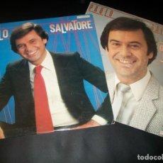 Discos de vinilo: LOTE DE 2 LP´S DE PAOLO SALVATORE - GRANDES EXITOS Y LA LADRONA - HISPAVOX - 1982-1983 . Lote 146377646