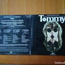 Discos de vinilo: TOMMY,ORIGINAL SOUNDTRACK RECORDING 2 LPS 1975-POLYDOR. Lote 146380730