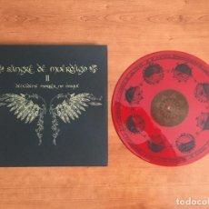 Discos de vinilo: SANGRE DE MÚERDAGO - DEIXADEME MORRER NO BOSQUE (2016 STONEHENGE RECORDS). Lote 146381286
