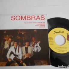 Discos de vinilo: SOMBRAS-EP TALES OF A RAGGY TRAMLINE +3-NUEVO. Lote 146397902