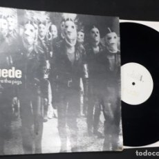 Discos de vinilo: MAXI DISCO VINILO 12'' SUEDE WE ARE THE PIGS DE 1994. Lote 146407618