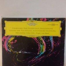 Disques de vinyle: IGOR STRAVINSKY LP DEUTSCHE GRAMMOPHON EDICIÓN ALEMANA. Lote 146416762