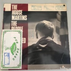 Disques de vinyle: HOUSEMARTINS - THE PEOPLE WHO GRINNED THEMSELVES TO DEATH. Lote 146418368