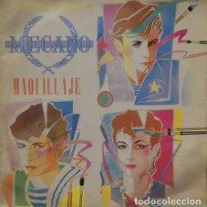 Discos de vinilo: MECANO - MAQUILLAJE - MAXI SINGLE DE VINILO. Lote 146429370