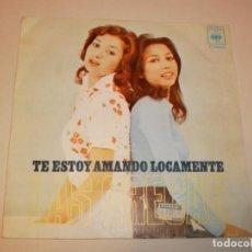 Discos de vinilo: SINGLE LAS GRECAS. TE ESTOY AMANDO LOCAMENTE. AMMA IMMI. CBS 1973 SPAIN (PROBADO Y BIEN). Lote 146432294
