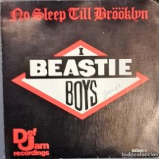 Discos de vinilo: BEASTIE BOYS- NO SLEEP TILL BRÖÖKLYN- SG. PROMOCIONAL UNA CARA- ED. ESPAÑOLA- 1987. Lote 146434134
