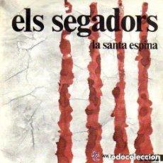Discos de vinilo: COBLA BARCELONA - ELS SEGADORS / LA SANTA ESPINA - SINGLE RCA 1976. Lote 146437650